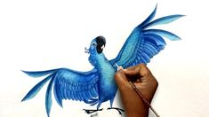 Hey guys watch how to draw Rio 2 Blu character step by step easy from Rio 2 movie.Please subscribe for more videos :) Thanks for watching...