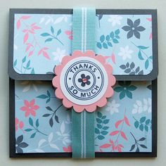 DIY gift-card holder