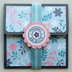 DIY gift-card holder