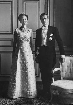 Queen Margrethe and Prince consort Henrik  Denmark