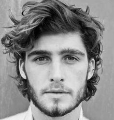 Wavy Hairstyles For Men - Wavy Hair Long