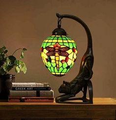 Tiffany Style Cat Lamp - Foter