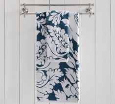 Damask Quick-Dry Towels | Pottery Barn