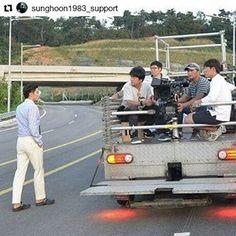 "#Repost @sunghoon1983_support ・・・ [ 2017 MOVIE ] BTS photo #SUNGHOON shooting #Action #movie ""Come Back To Busan Port"" . #성훈 #배우성훈  @sunghoon1983파이팅! Fighting!! #ソンフン#방성훈#成勋 #成勛  #sunghoon1983 #sunghoon1983_support #신기생뎐#newtalesofgisaeng #greatdoctor #보디가드#bodyguard #고결한그대 #noblemylove #오마이비너스#ohmyvenus #아이가다섯#FiveChildren #돌아와요부산항애 #ComeBackToBusanPort #애타는로맨스 #MysecretRomance  #아이돌마스터KR #IDOLMASTERKR #アイドルマスターKR"