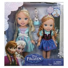 Frozen is a hot item for her right now. Given the choice she prefers Elsa (blonde) but something like this with both would be cool. As would anything frozen related (clothes, pjs, socks, etc...)