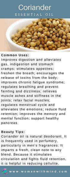 Coriander Essential Oil Guide & Application #essentialoils #diybeauty