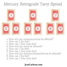 """From my """"The Ultimate Guide to Mercury Retrograde"""" - Get ready for Mercury Retrograde by giving yourself a little reading..."""