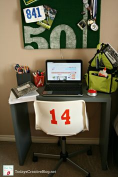 Tips for back to school | Creating a designated homework station from the beginning will start the year out organized. See more on TodaysCreativeLife.com