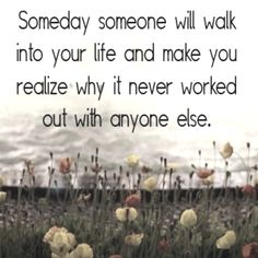 but until that day comes... enjoy the single life!!