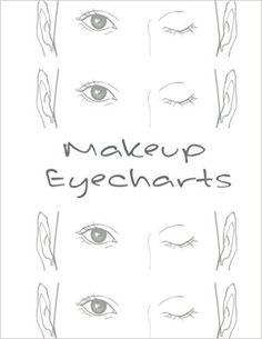 Makeup EyeCharts: Charlotte: Emma Walkerson: 9781544953441: Amazon.com: Books