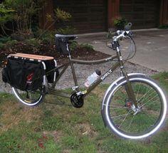 Surly Big Dummy long tail bike Bicycle Types, Cargo Bike, Big, Vehicles, Bike, Veil, Types Of Bicycles, Car, Vehicle