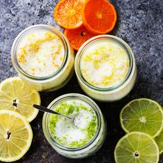 These Easy Citrus Salts are simple to make at home using the zest of fresh citrus and kosher salt. They make amazing DIY food gifts!