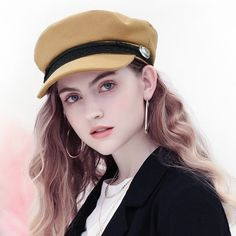 d6dfcb3e85b 2018 Fashion Trend Women Winter Beret Hats French Style Boina Para Mujeres  NEW