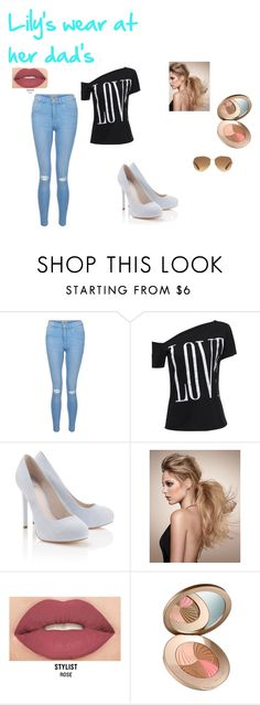 """Lily's wear at her dads"" by lydia-rainbow on Polyvore featuring New Look, Lipsy, Smashbox and Stella & Dot"