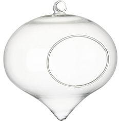 hanging glass terrar...