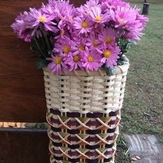 J. Choate Basketry - Moyie Springs, ID - Flower Tower w/ diamond hitch