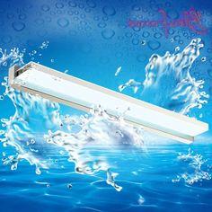 39.00$  Buy now - https://alitems.com/g/1e8d114494b01f4c715516525dc3e8/?i=5&ulp=https%3A%2F%2Fwww.aliexpress.com%2Fitem%2FStainless-Steel-Indoor-Sconce-LED-Bathroom-Mirror-Lights-Acrylic-Wall-Lamp-Bathroom-mirror-Cabinet-Light-Makeup%2F32719257123.html - Stainless Steel Indoor Sconce LED Bathroom Mirror Lights Acrylic Wall Lamp Bathroom mirror Cabinet Light Makeup Light Lighting 39.00$