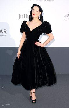 Cannes - Dita von Teese