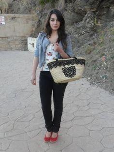 lovelystyle Outfit   Primavera 2012. Combinar Bolso Beige Dragona Fly, Cómo vestirse y combinar según lovelystyle el 24-5-2012