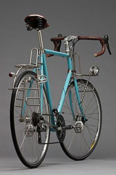 Some tourer love. Horse Cycles Stainless Tourer (vía Cycleexif) Nicely done! Velo Retro, Velo Vintage, Vintage Bicycles, Vintage Bicycle Parts, Retro Bike, Bmx, Bike Mtb, Velo Design, Bicycle Design