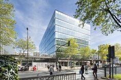 Gallery of Avenue Leclerc Office Building / AZC - 3