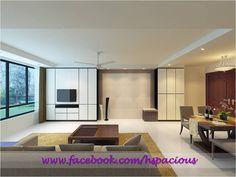 Studio apartment HDB TV Console storage cabinet, shoe cabinet and seat # storage cabinet