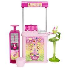 BARBIE®The Malibu Ave.™ Yogurt Shop - Shop.Mattel.com