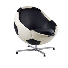 Lounge chairs for fans of football