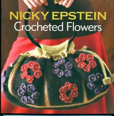 Crocheted Flowers Book Nicky Epstein's by RecycleandRepurpose