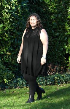 cc3c3d13a20 Black Sheer Chiffon Longline Sleeveless Shirt Plus size  16
