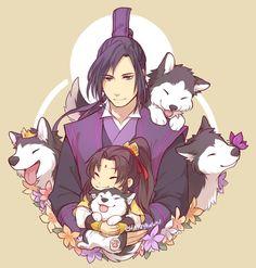 Jiang Cheng, Jin Ling, Little Fairy, Fairy Pikachu, The Grandmaster, Light Novel, Manga Games, Anime Comics, Anime Love, Character Inspiration, Manga Anime, Kawaii
