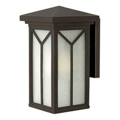 Drake Oil Rubbed Bronze 7.5-Inch One-Light LED Outdoor Wall Mounted