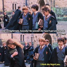 Poor hermione!!!!!! The little darling!!!!! I'll be you frieeeeend!!!!❤️