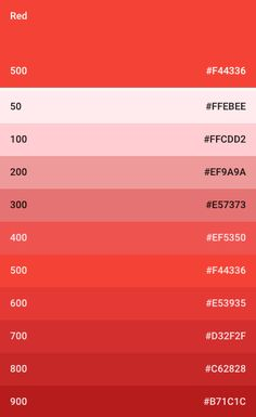 Picture of a material design color palette Flat Color Palette, Color Palette Challenge, Colour Pallette, Color Palate, Colour Schemes, Color Patterns, Pantone Colour Palettes, Pantone Color, Colores Hex