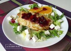 Filet z kurczaka w migdałach z żurawiną