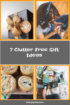 Save yourself and your home from more chaos this year and get your family items from the clutter free gift guide instead. - Kaizen Hacks !