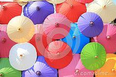 Colorful Umbrellas | Colorful umbrellas Bo Sang, Chiang mai, Thailand.