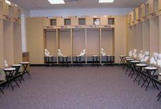 Charlotte West Stadium -- Saluki Locker Room