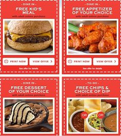 picture relating to Printable Chili's Menu named 20 Great Chilis Discount coupons photos within just 2013 Chilis discount coupons