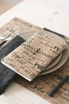 Pesach Word Play Passover Dining Papers, set of 10 Transform your Pesach table with these modern, rustic dining papers. Seder Meal, Maundy Thursday, Jewish Crafts, Passover Recipes, Passover Menu, Rosh Hashanah, Brown Bags, Corporate Gifts, Hanukkah