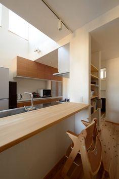 居酒屋さんごっこもできるキッチンカウンター #キッチン #カップボード #igstylehouse #アイジースタイルハウス