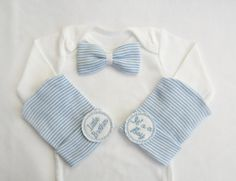75ebd90baafc Newborn boy coming home outfit newborn boy by PinkandBlueBonnets Newborn  Girl Outfits