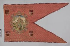 Banner Date: 1596 Culture: Spanish Medium: Silk and metal thread Dimensions: H. 50 x W. 90 inches (27.0 x 228.6 cm) Classification: Textiles-Embroidered Credit Line: Gift of Melvin Gutman, 1958 Accession Number: 58.172
