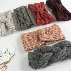 Headbands - - Knitting for beginners,Knitting patterns,Knitting projects,Knitting cowl,Knitting blanket Knitting Terms, Knitting Projects, Knitting Patterns, Crochet Patterns, Knitting Ideas, Easy Knitting, Knitting Yarn, Knit Headband Pattern, Knitted Headband