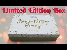 Walmart Beauty Box - Award Worthy Beauty Limited Edition Box!