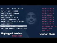 Unplugged 2016 Jukebox | Arijit Singh| Atif Aslam| Darshan Raval Best of 2016 Unpluggged - YouTube