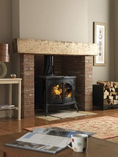 Vermont Castings Defiant Two-in-One Woodstove