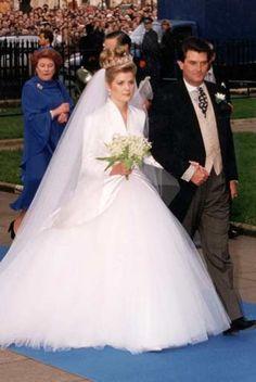 Princess Margaret's son, David Armstrong-Jones to Serena Stanhope Oct. 8, 1993
