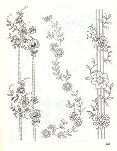 (64) Gallery.ru / Фото #14 - Рисунки для вышивки лентами и гладью - Vladikana