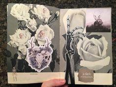 @dansmoncrane  | A dark romance | Season of Words | Get Messy Art Journal